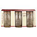 3 Clip Top Kilner®  Large Preserving Glass Jam Jars & Lids 1L