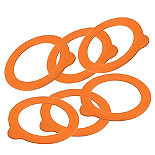 6 Kilner® Clip Top Replacement Rings
