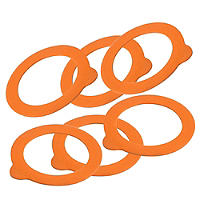6 Kilner® Clip Top Replacement Seals