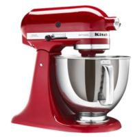 Red KitchenAid Artisan Stand Mixer