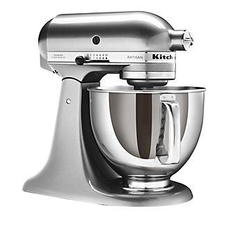 Silver KitchenAid® Artisan® Stand Mixer alt image 1