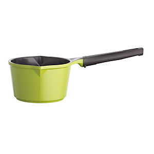 Colourful Ceramica Cookware Green Milk Pan 0.75L - 14cm