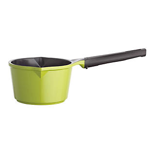 Colourful Ceramica Cookware Green Milk Pan 0.75L -