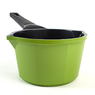 Colourful Ceramica Cookware Green Milk Pan 0.75L - 14cm alt image 6