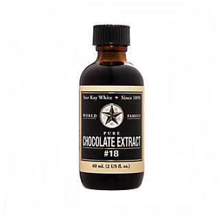 Star Kay White Food Flavour Extract - 60ml Chocolate