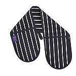 Rushbrookes Butchers Stripe Double Oven Glove