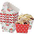 12 Petals & Polka Dots Mini Baker's Moulds