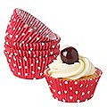 100 Polka Dot Cupcake Cases