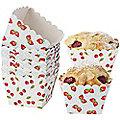 12 Berries & Cherries  Mini Baker's Moulds