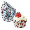 100 Berries Cupcake Cases