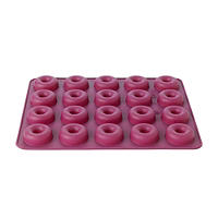 Silicone Mini Doughnuts Mould