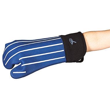 Butcher's Stripe Silicone Oven Glove