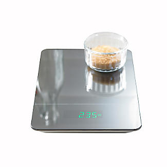 Lakeland Precision Flat Digital Kitchen Weighing Scale alt image 1