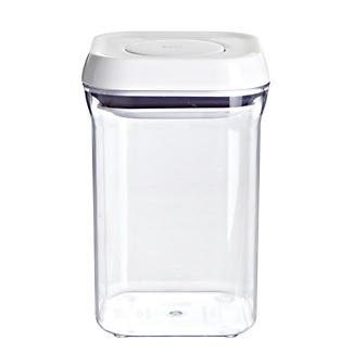 oxo good grips pop 09l square food storage container