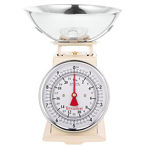 Terraillon® Traditional Vintage Cream Kitchen Weighing Scale