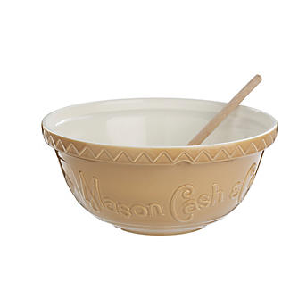 Mason Cash Heritage Shallow Beige Mixing Bowl 4.5L
