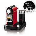 Krups Nespresso® Fire Engine Red CitiZ with Milk