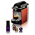 Krups Nespresso® Electric Red Pixie Coffee Pod Machine XN3006
