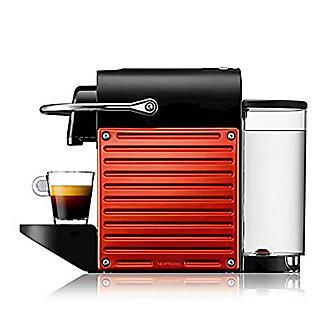 Krups Nespresso® Electric Red Pixie Coffee Pod Machine XN3006 alt image 4