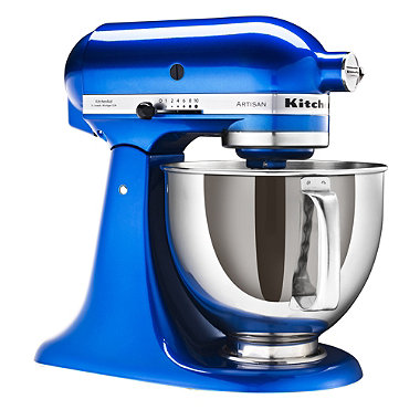 Blue KitchenAid® Artisan® Stand Mixer
