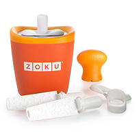 Zoku® Orange Single Quick Pop Maker
