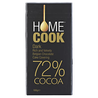 Home Cook Belgian Dark Cooking Chocolate 100g alt image 1