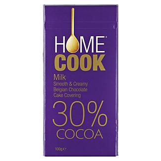 Home Cook Belgian Milk Cooking Chocolate 100g