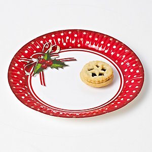 Jolly Holly 8 Plates