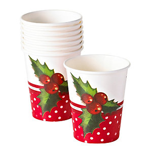Jolly Holly Cups