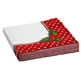 Jolly Holly Napkins