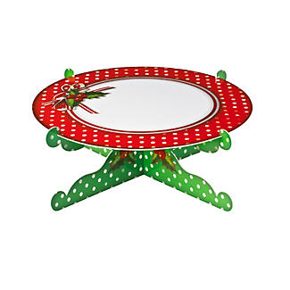 Jolly Holly Cake Stand