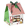 3 Large Merry & Bright Cupcake Boxes