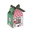 4 Small Merry & Bright Cupcake Boxes