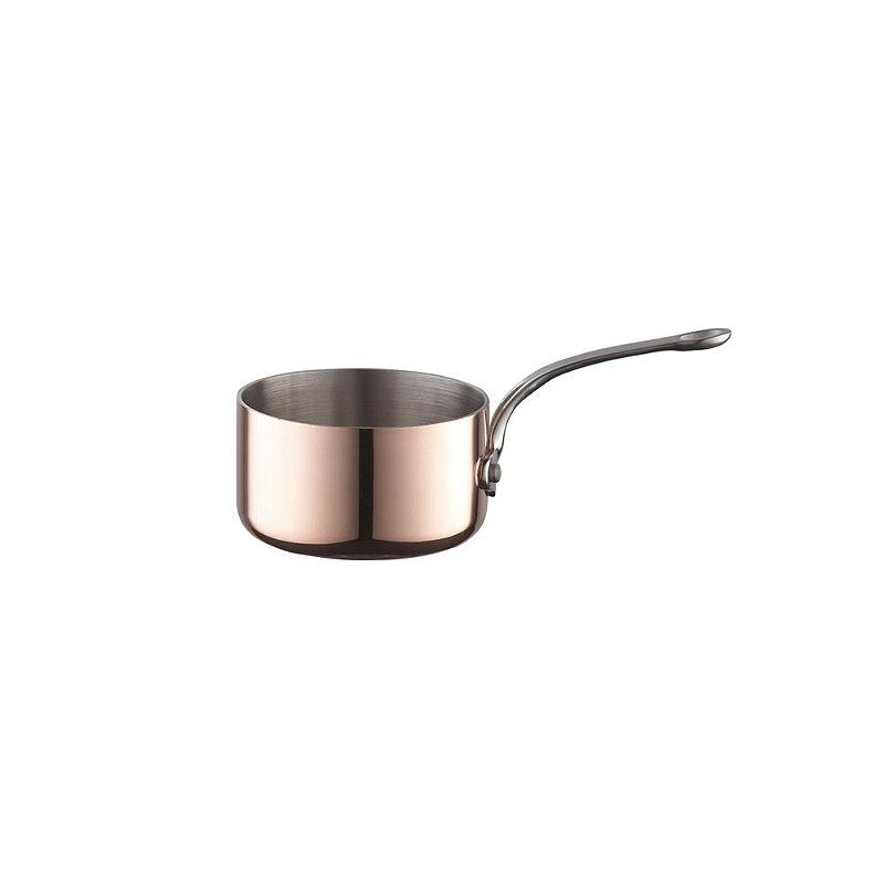 Copper Tri-Ply Mini Saucepan 9cm