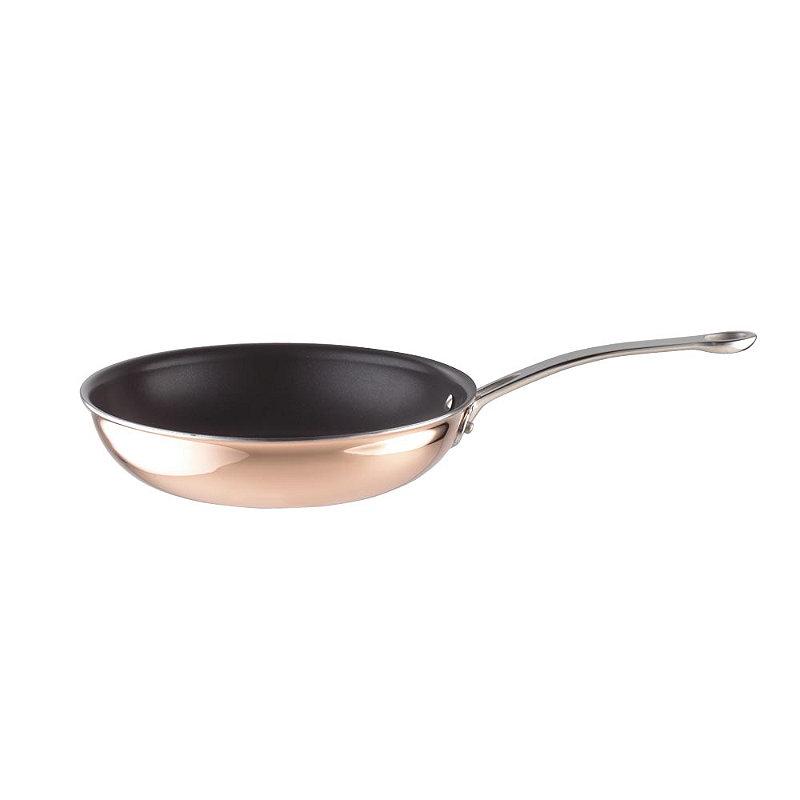 24cm Copper Tri-Ply Fry Pan