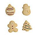 4 Lakeland Christmas Cutters
