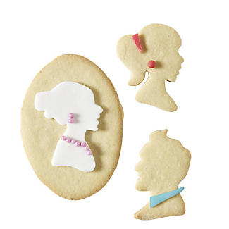 4 Cameo Cookie Cutters