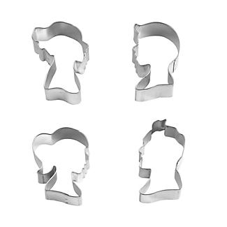 4 Cameo Cookie Cutters alt image 2