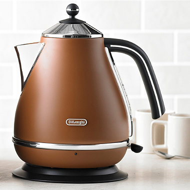 Delonghi Vintage Icona Kettle Copper