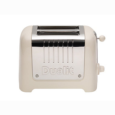 DUALIT® CANVAS WHITE 2-SLICE TOASTER