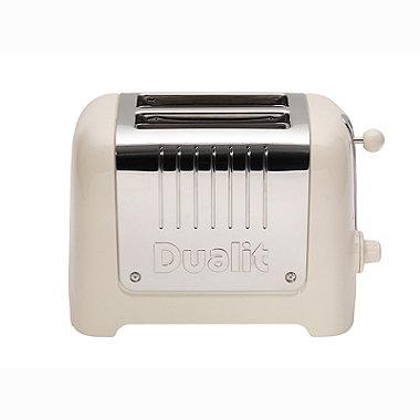 Dualit® Canvas White 2-Slice Toaster 26213
