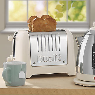 Dualit® Canvas White 2-Slice Toaster 26213 alt image 7