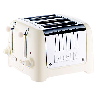 DUALIT® CANVAS WHITE 4-SLICE TOASTER alt image 1
