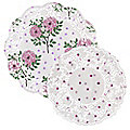 20 Peonies & Roses Paper Doilies