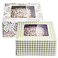 2 Peonies & Roses Cake Boxes