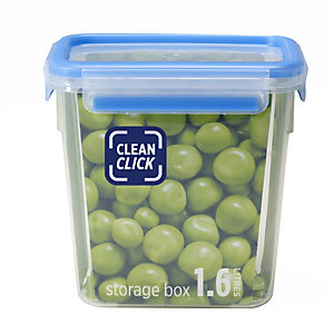 Clean Click Hygienic Rectangular 1.6L Box