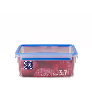 Clean Click Hygienic Rectangular 3.7L Box