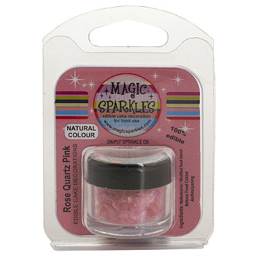 Magic Sparkles Rose Quartz Pink