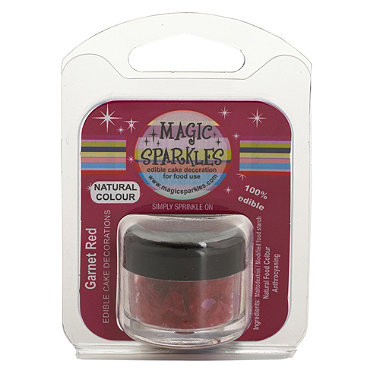 Magic Sparkles Garnet Red