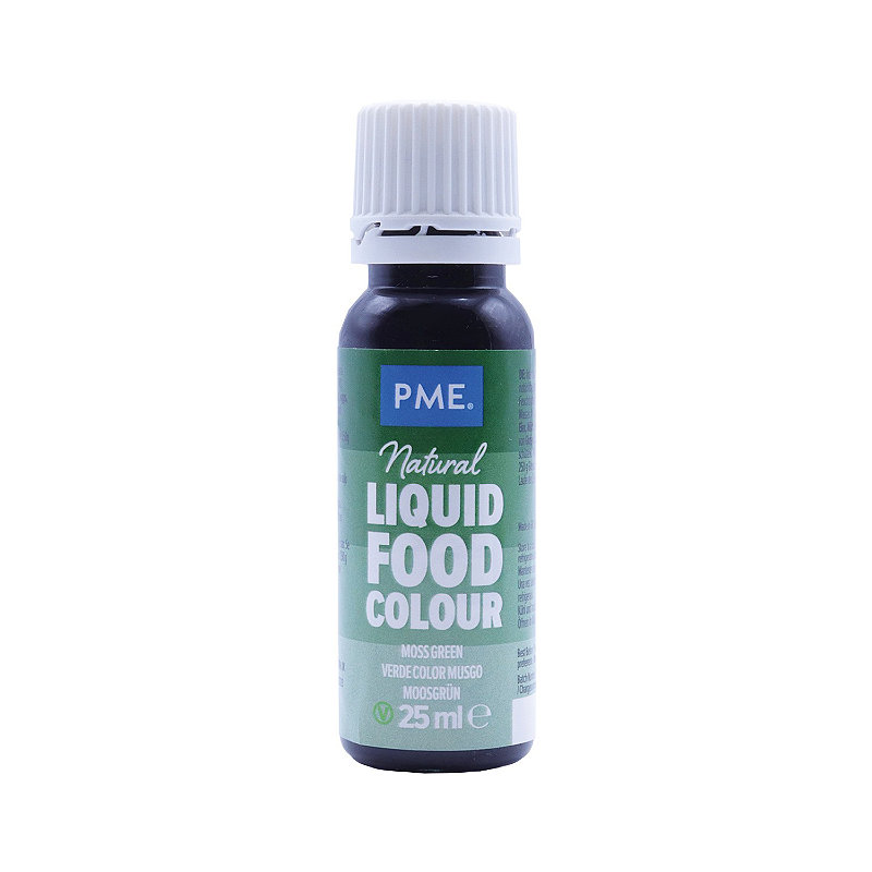 PME Moss Green Concentrated Natural Food Colouring 25g